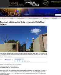 Benghazi attack review finds systematic State Dept failures: CTV