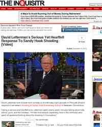 David Letterman's Serious Yet Heartfelt Response To Sandy: The Inquisitr